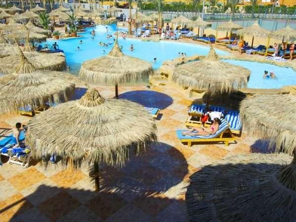 отель дана бич в египте