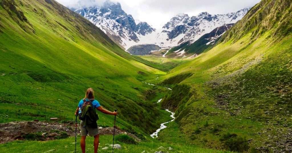 отдых в грузии - природа