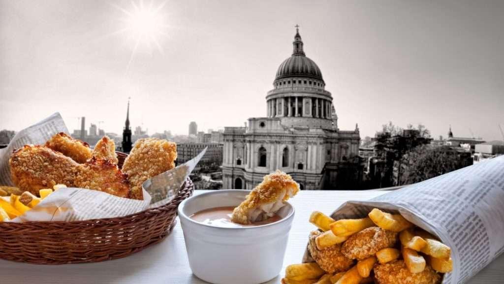 отдых в великобритании - местная кухня